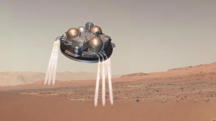 Schiaparelli, Mars, modul, pristanie