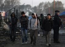 utečenci, Calais