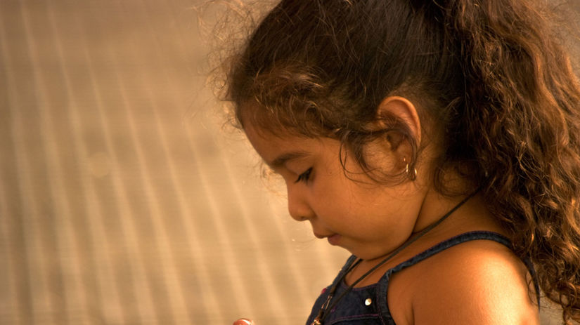 Paraguaj, dievčatko