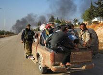 povstalci, Sýria, Aleppo