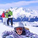 hory, kopce, zima, sneh, dovolenka, rodina, lyžovanie, lyžovačka, lyžiari, zimný šport