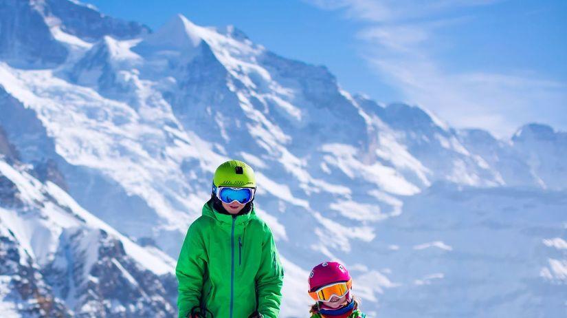hory, zima, sneh lyžovačka, lyžovanie, lyžiari,...