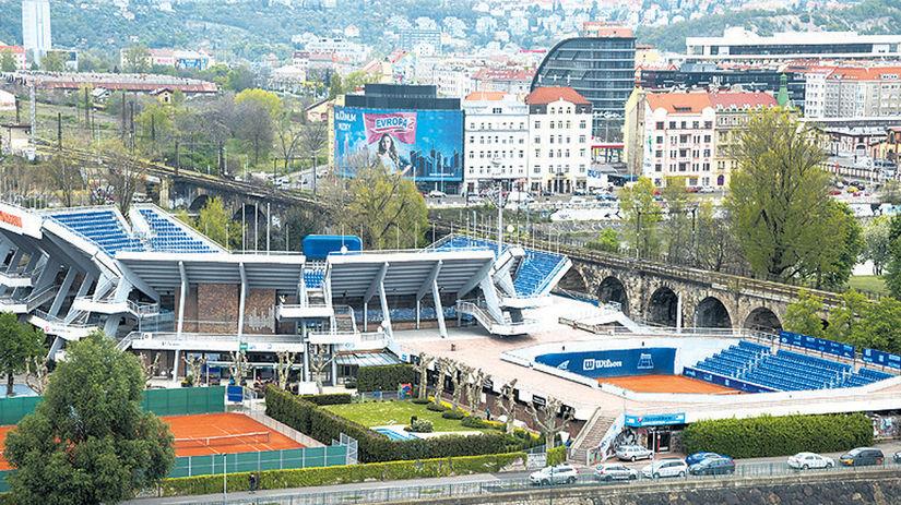tenis, Praha, Štvanice, kurt