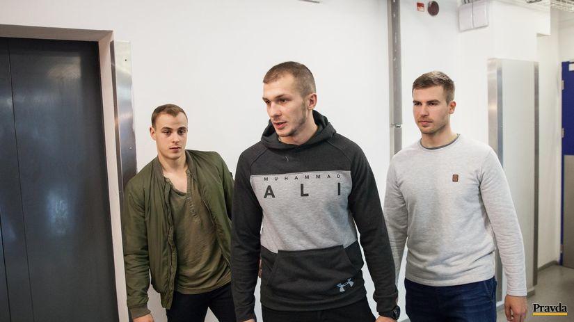 Bruno Mráz, Tomáš Matoušek, Jakub Suja