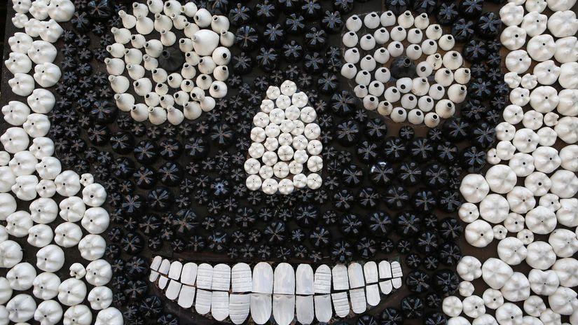 Deň zosnulých, Deň mŕtvych, Mexiko, masky,...