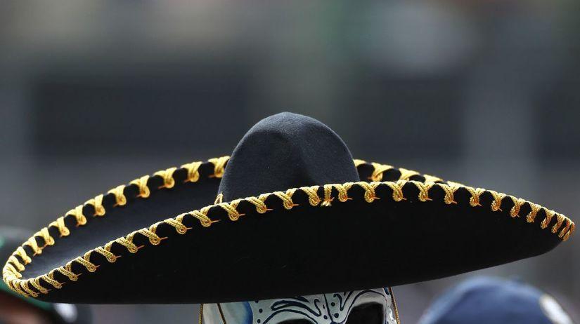 Mexico F1 Grand Prix, kostra, lebka, klobúk,...