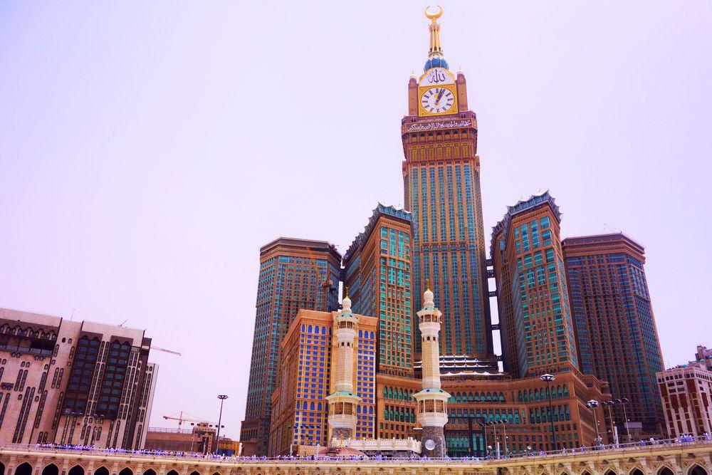 Abrádž al-Bajt, hotel, Mekka, Saudská Arábia,