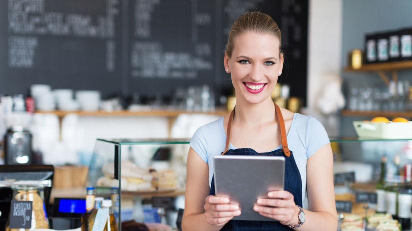 zamestnanec, práca, čašník, reštaurácia
