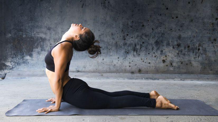 joga, dýchanie