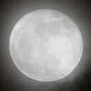 Mesiac, supermesiac, spln, planéta, noc, obloha