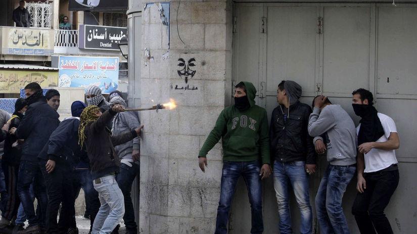 palestíncki radikáli, hebron, izrael, bezpečnosť