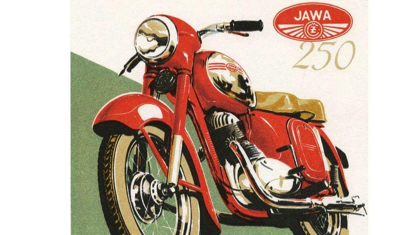 Jawa 250 - plagát