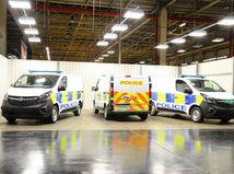 Vauxhall - výroba policjaných áut