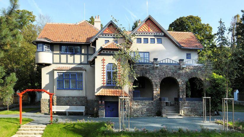 Jurkovicova vila, Moravska galerie, Brno