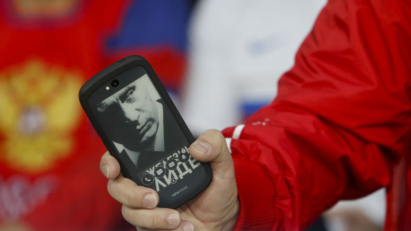 Vladimir Putin, mobil, fanúšik,