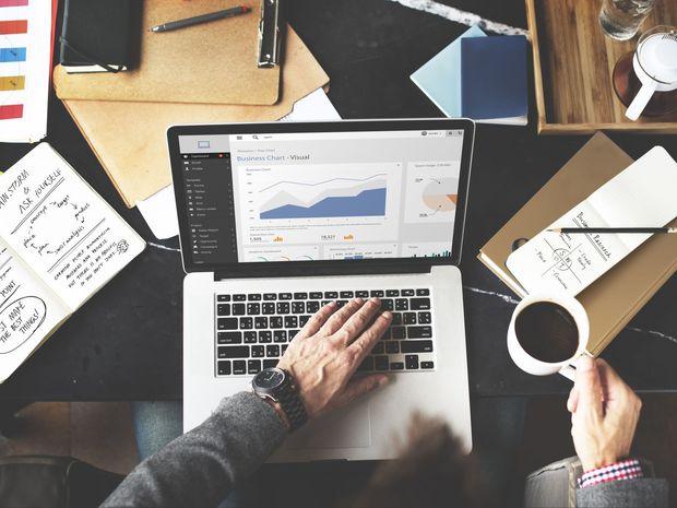 pocítač, notebook, podnikanie