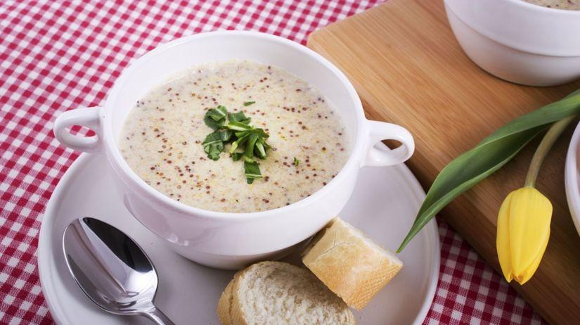 kaleráb, polievka,