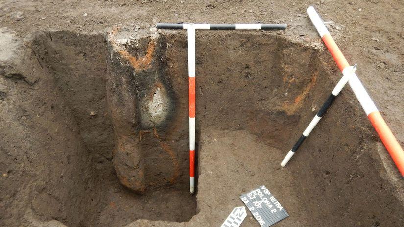 archeológia, Nitra