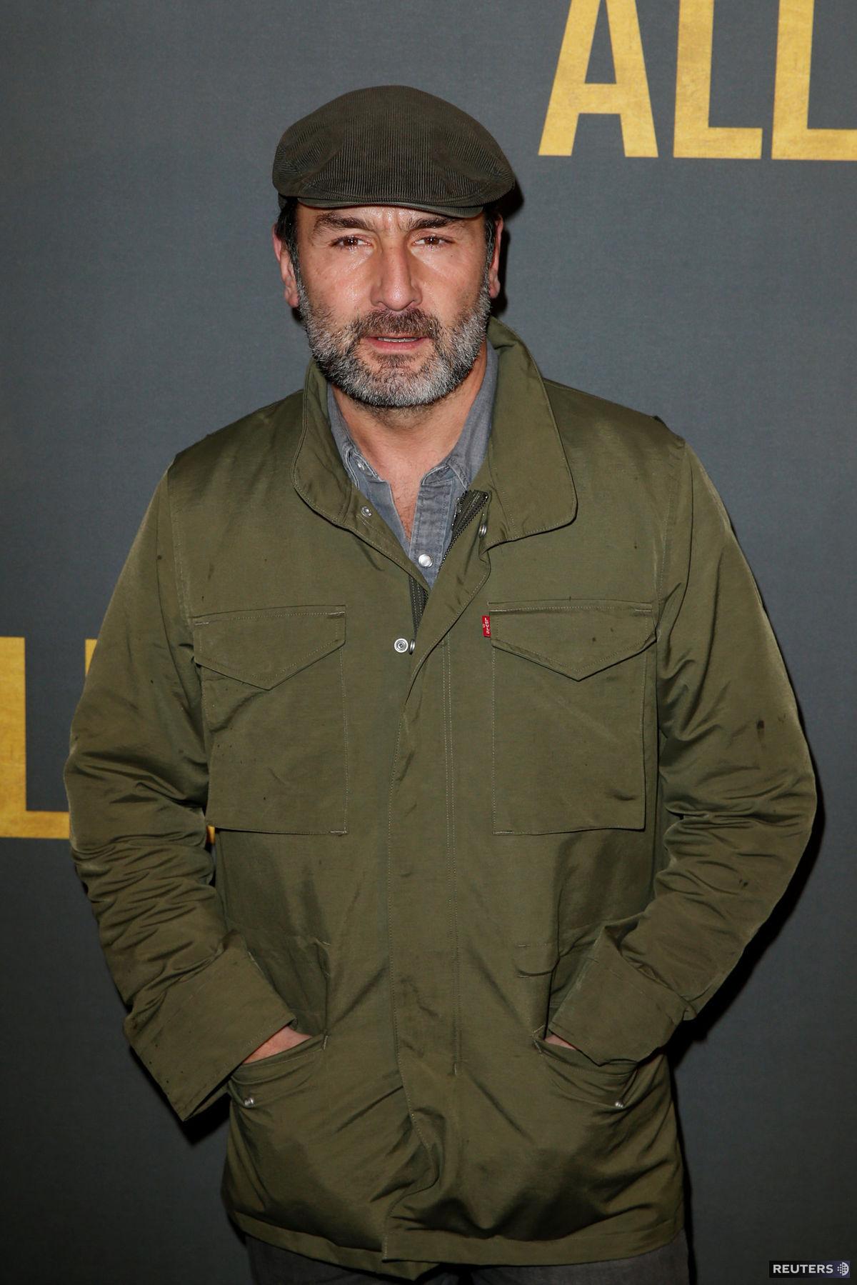 Francúzsky herec Gilles Lellouche.
