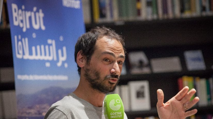 libanonsky vytvarnik Mazen Kerbaj