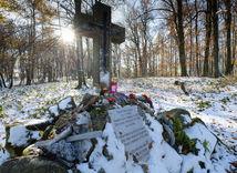Sakrakopec, pamätník, kríž