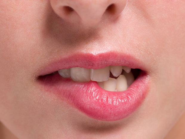 ústa, zuby, pery, hryz