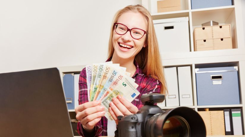 študent, peniaze, škola, notebook