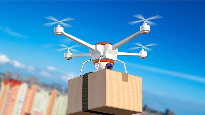 dron, pošta