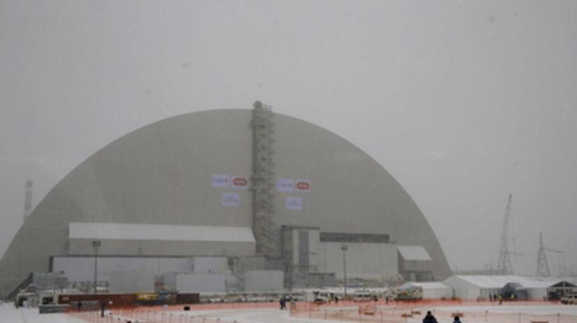 Černobyľ, jadrová elektráreň, kryt