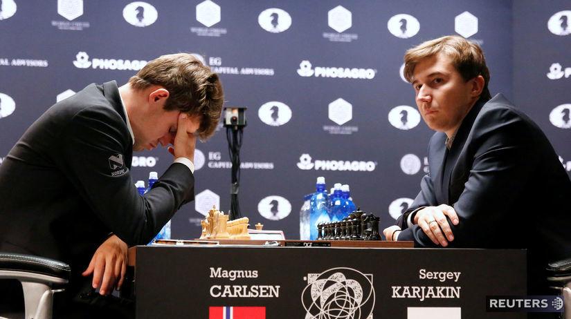 Karjakin, šach, Carlsen