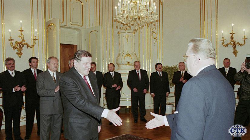 Mečiar, Kováč, amnestie, 1998, prezidentský palác