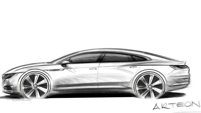 VW Arteon - 2017 skica