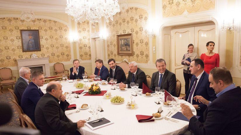 Fico, predsedovia VÚC