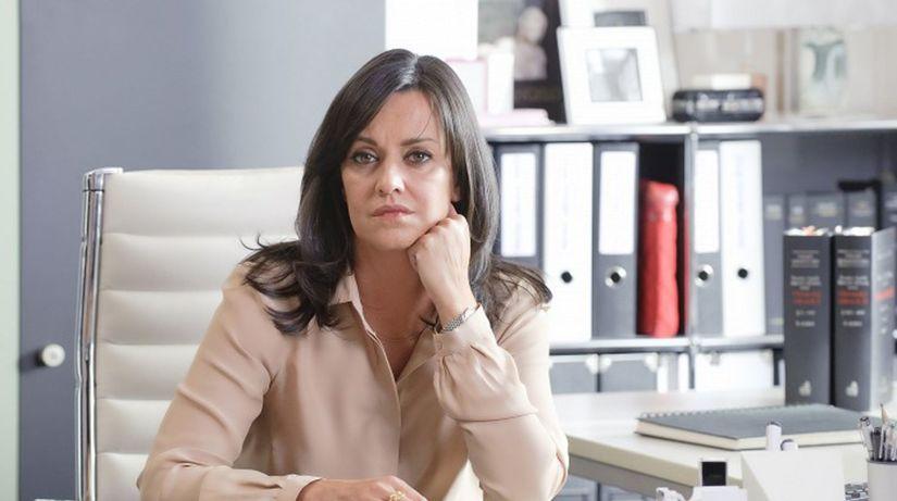 Herečka Tereza Brodská.