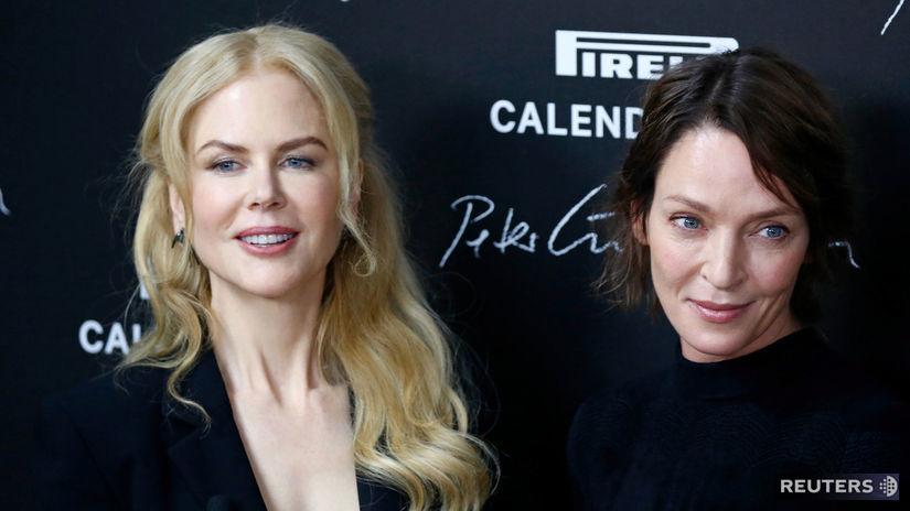 Nicole Kidman (vľavo) a Uma Thurman
