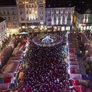 Vianoce, vianočné trhy, advent, Bratislava, Hlavné námestie, stánky