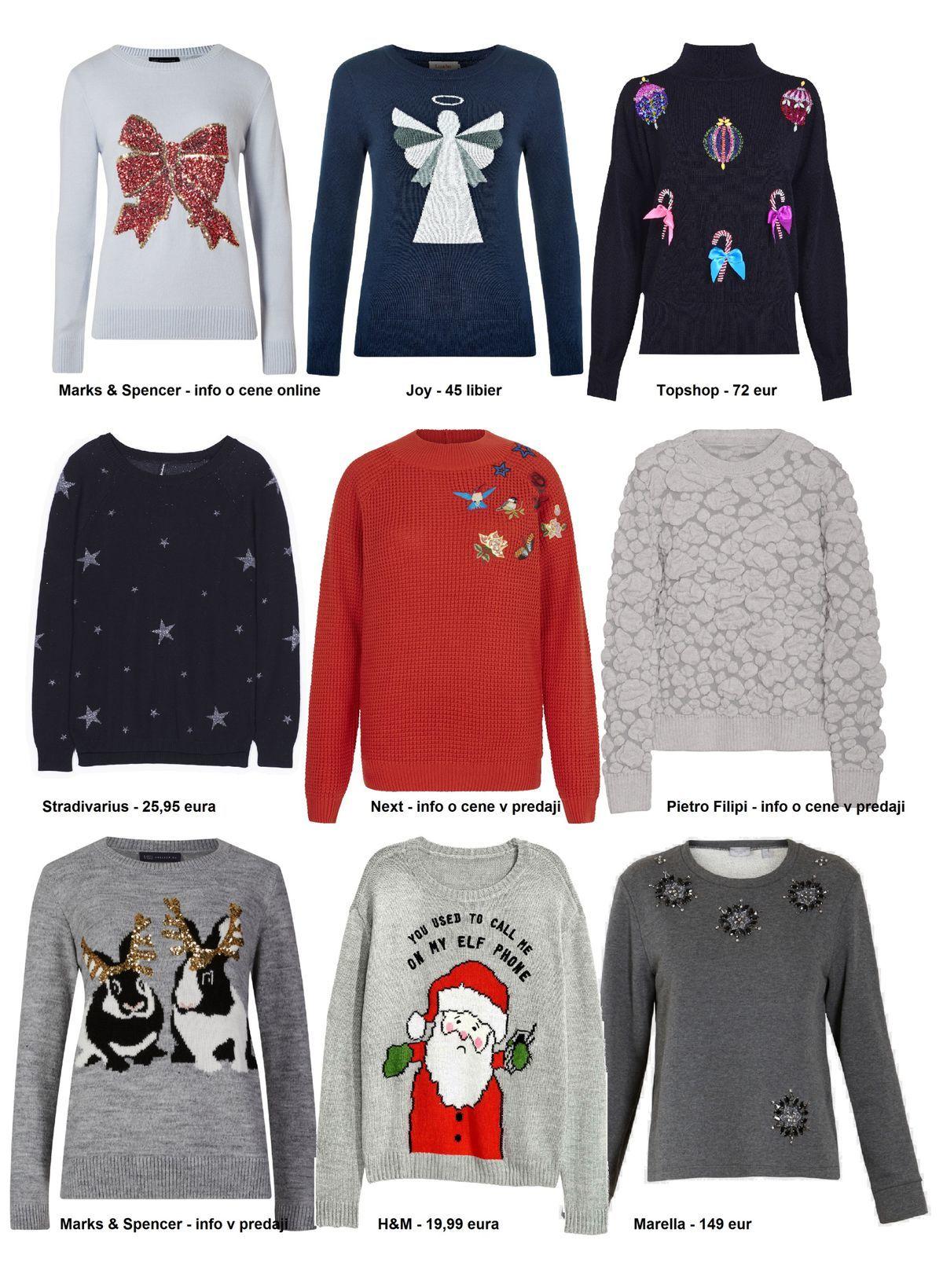 653a4a142bd3 Vianočná nálada aj v pletenej móde  9 fakt rozkošných svetrov ...