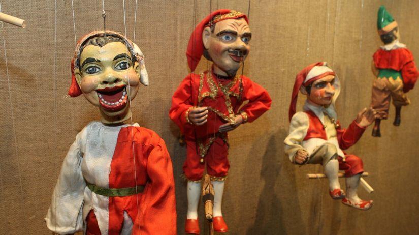 bábky, marionety