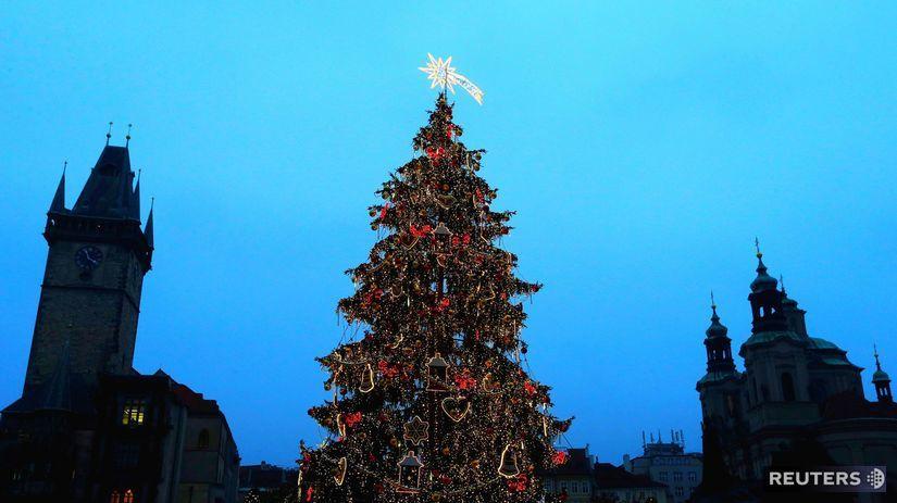 Praha, vianoce, vianočné trhy, Staromestské...