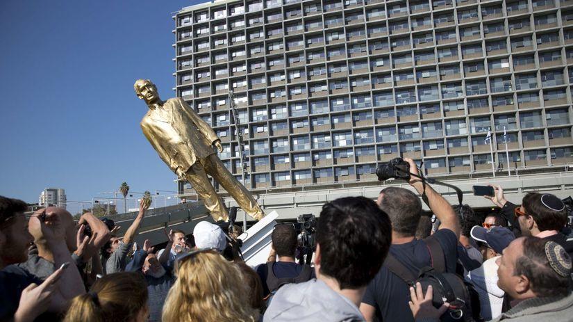 Netanjahu, socha