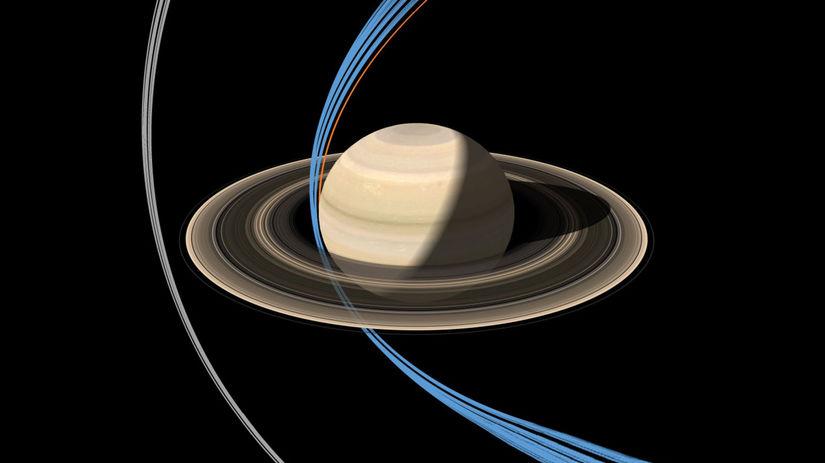 Sonda Cassini, saturn, vesmír