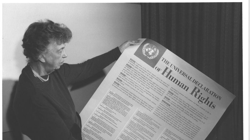 Eleanor Rooseveltová, Všeobecná deklarácia...