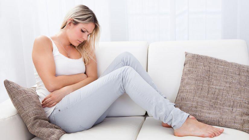 žena, menštruácia, bolesti