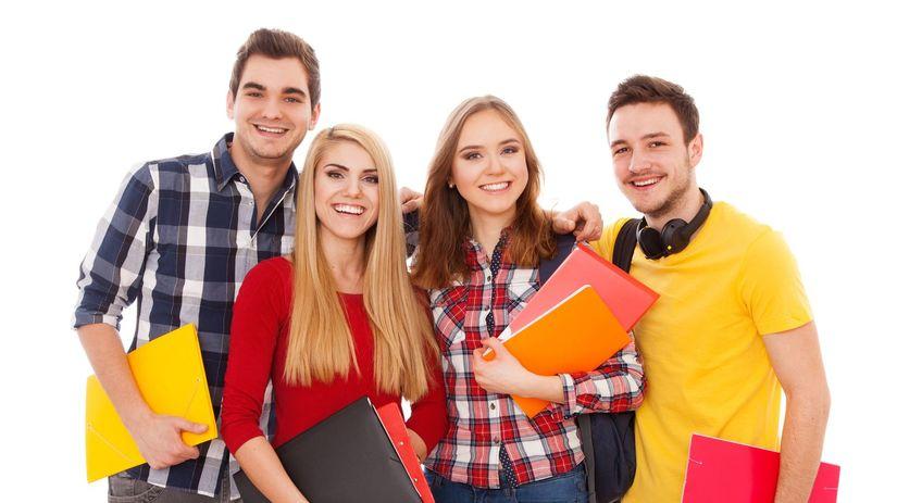 študenti, vysokoškoláci, mladí ľudia