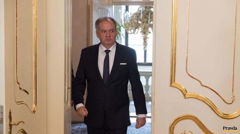 Andrej Kiska prezident slovenský