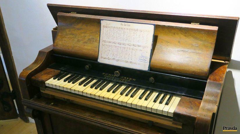 klavír, Arnsdorf, Tichá noc, Franz Xaver...