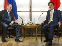 Vladimir Putin, Šinzó Abe,