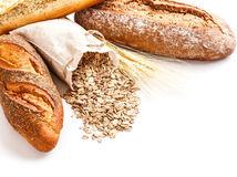 chleba, múka, pečivo, celozrnné, bageta