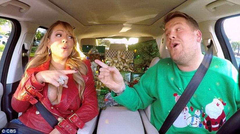 Mariah Carey a James Corden