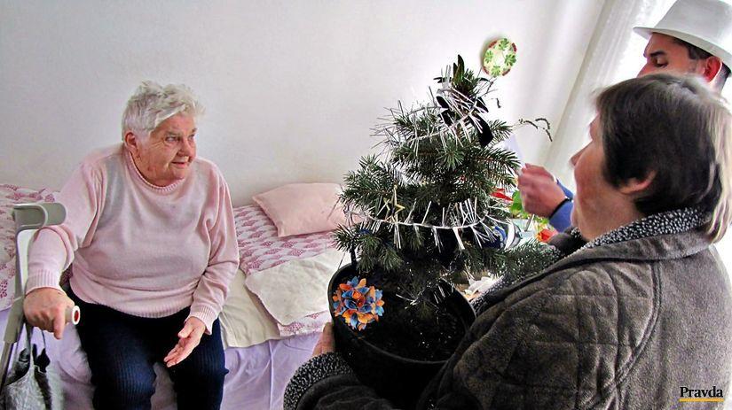 stromček, jedlička, trenčín, domov dôchodkov